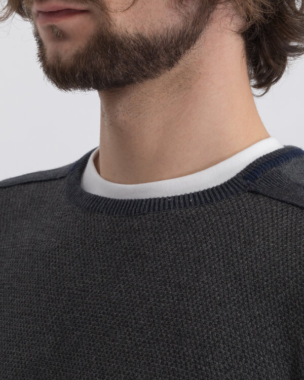 Sweter Pioneer Authentic Jeans 07039_05973_163 ciemnoszary