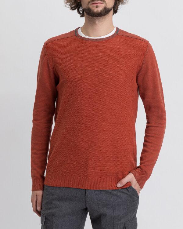 Sweter Pioneer Authentic Jeans 07039_05973_915 pomarańczowy