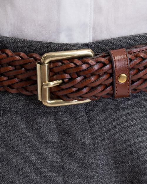 Pasek Saddler 785770002_BROWN brązowy