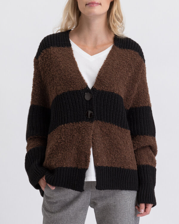 Sweter Fraternity JZ19_5076_BLACK/BROW brązowy