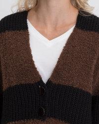 Sweter Fraternity JZ19_5076_BLACK/BROW brązowy- fot-2