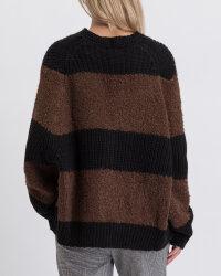 Sweter Fraternity JZ19_5076_BLACK/BROW brązowy- fot-5