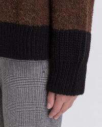 Sweter Fraternity JZ19_5076_BLACK/BROW brązowy- fot-3