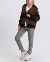 Sweter Fraternity JZ19_5076_BLACK/BROW brązowy- fot-4