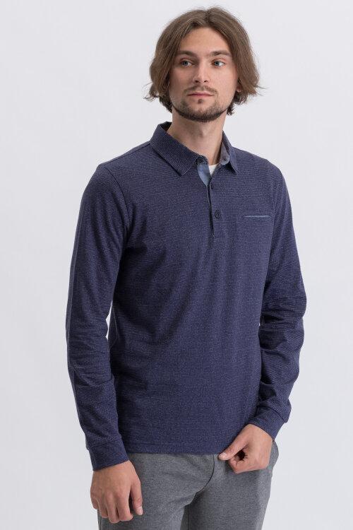 T-Shirt Pierre Cardin 92307_53434_3115 Granatowy Pierre Cardin 92307_53434_3115 granatowy