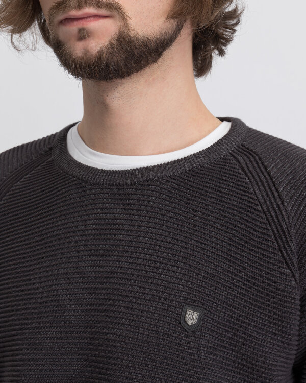 Sweter Campione 2097511_111010_91911 ciemnoszary