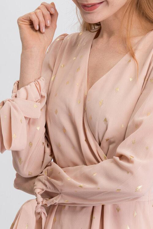 Sukienka Trussardi Jeans 56D00292_1T003071_P015 różowy