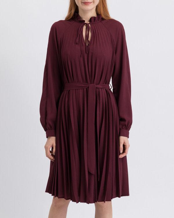 Sukienka Na-Kd 1018-002970_BURGUNDY bordowy