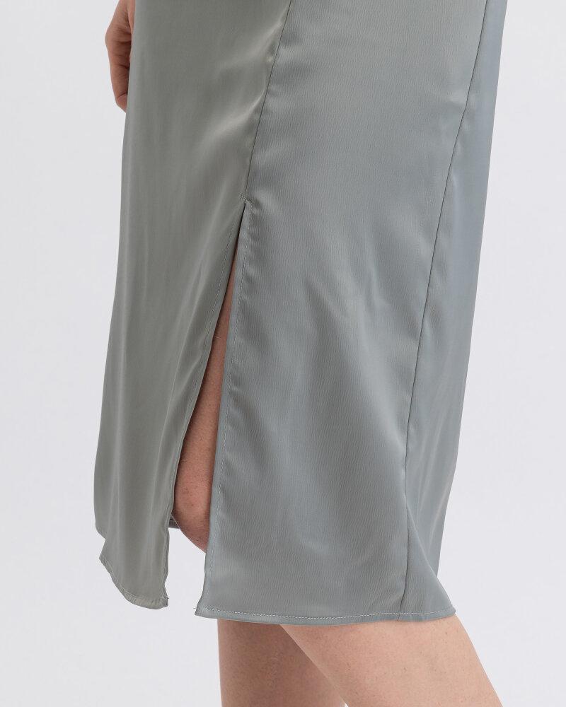 Spódnica Na-Kd 1018-003224_DUSTY PETROL zielony - fot:4