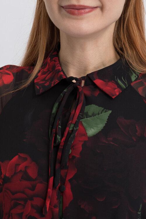 Sukienka Na-Kd 1018-003538_FLOWER COMB czarny