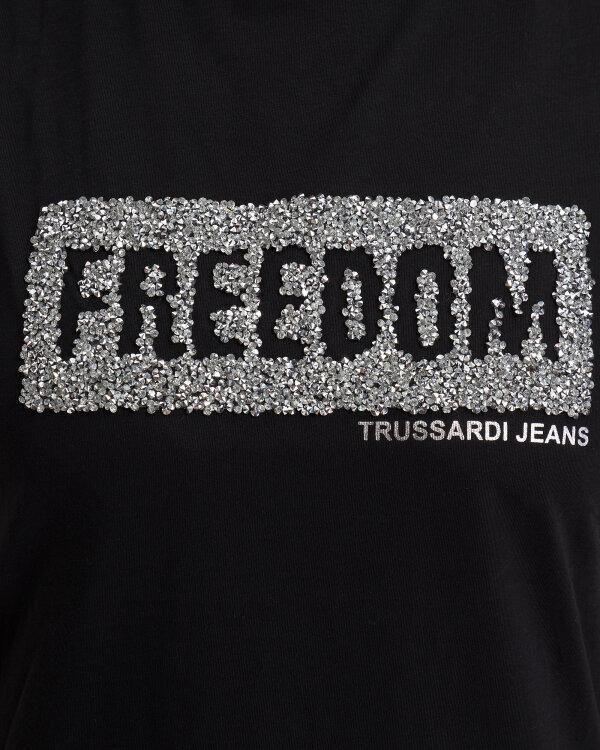 T-Shirt Trussardi Jeans 56T00212_1T003062_K299 czarny