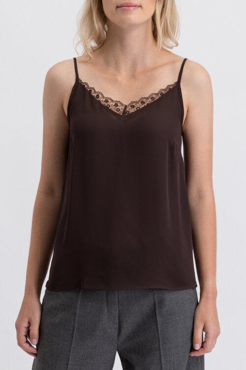 T-Shirt Mexx 73536_191106 brązowy