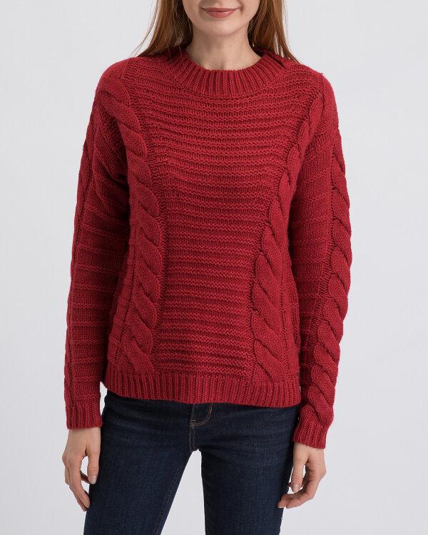 Sweter Gas 98468_HOT MIX YARN 5_3846 czerwony