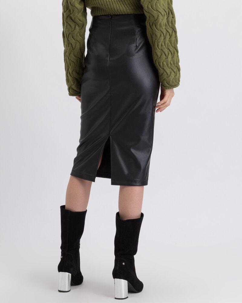 Spódnica Na-Kd 1018-003226_BLACK czarny - fot:3