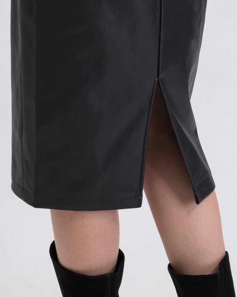 Spódnica Na-Kd 1018-003226_BLACK czarny - fot:4