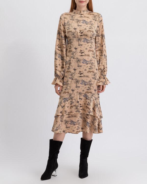 Sukienka Na-Kd 1018-003228_SAFARI PRINT beżowy
