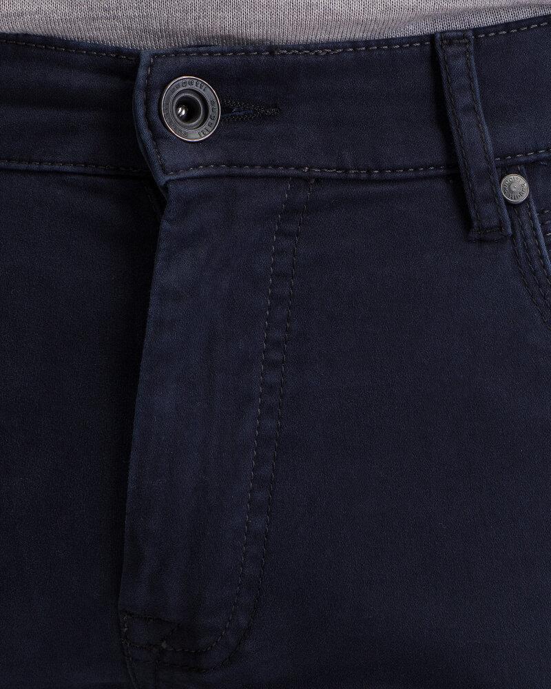 Spodnie Bugatti 46328_8 3034_380 granatowy - fot:2