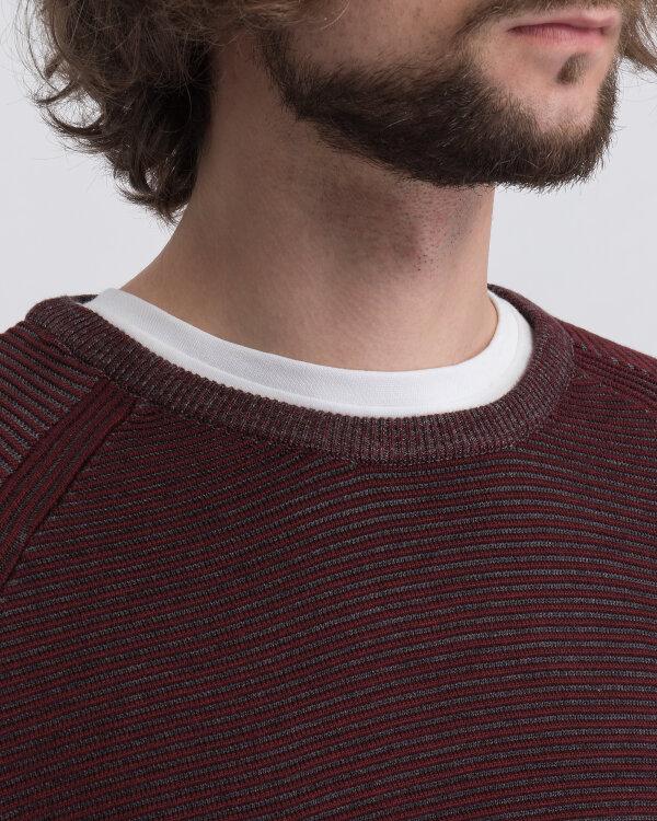 Sweter Campione 2097511_111010_63611 bordowy