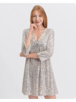 Sukienka Trussardi Jeans 56D00299_1T003078_M080 beżowy