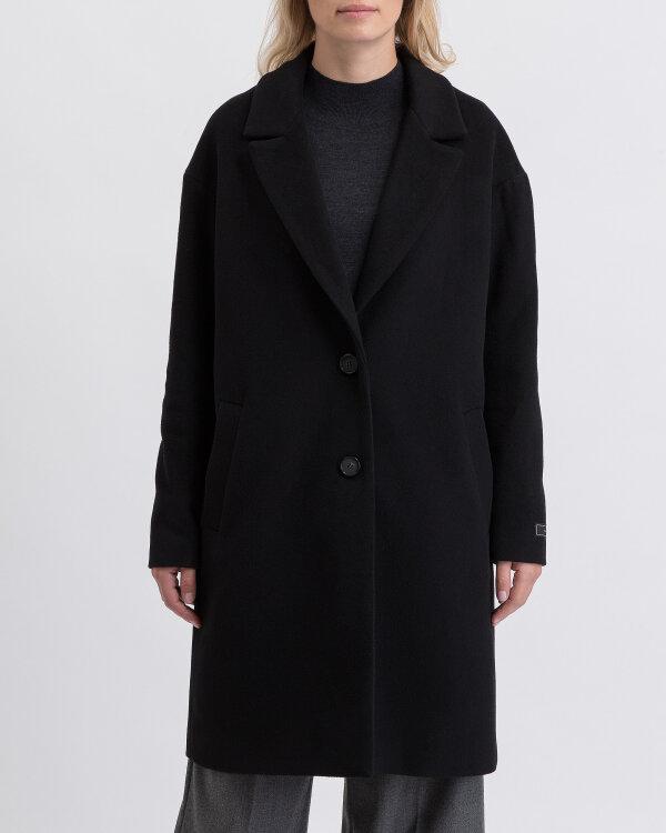 Płaszcz Fraternity JZ19_W-COA-0088_BLACK czarny