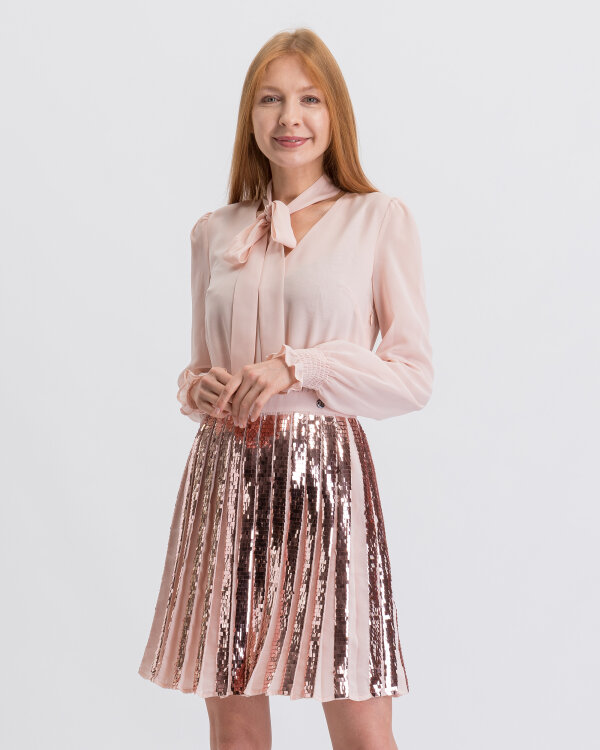Sukienka Trussardi Jeans 56D00313_1T003075_P015 różowy