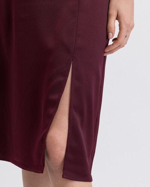 Spódnica Na-Kd 1018-003224_BURGUNDY bordowy