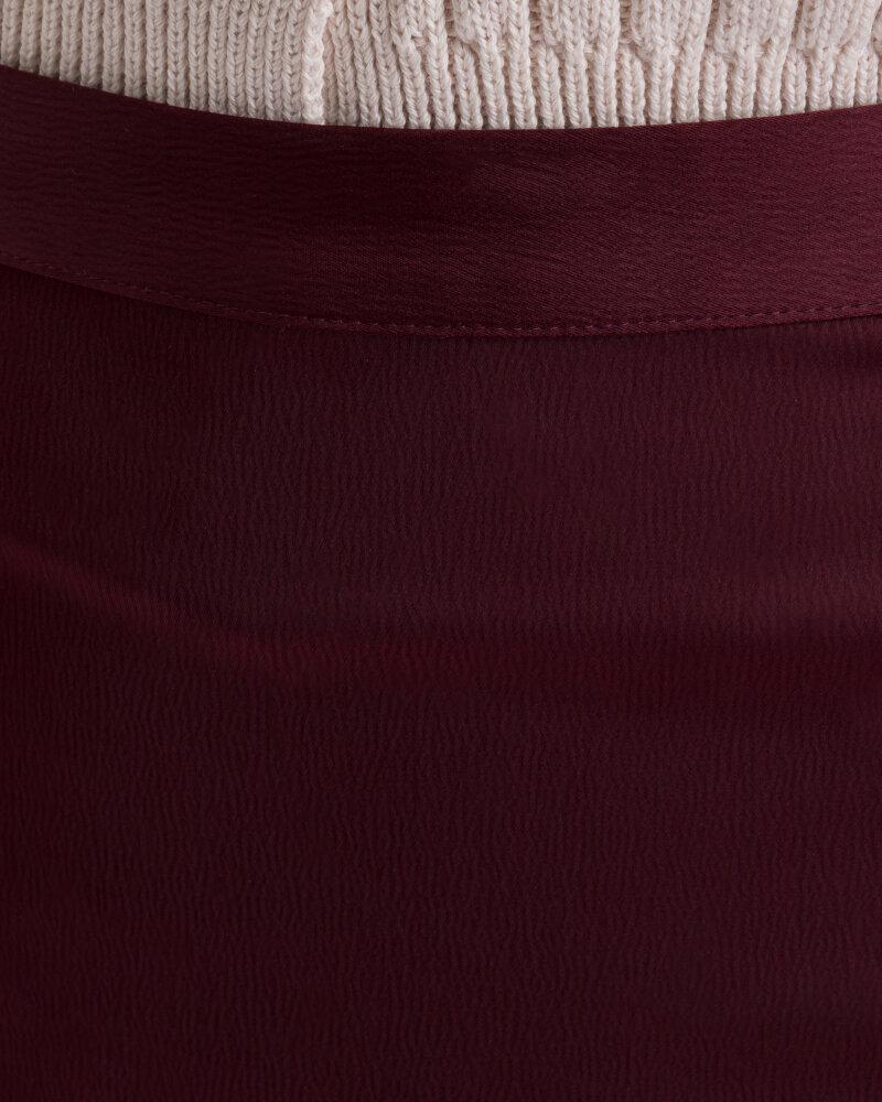 Spódnica Na-Kd 1018-003224_BURGUNDY bordowy - fot:4