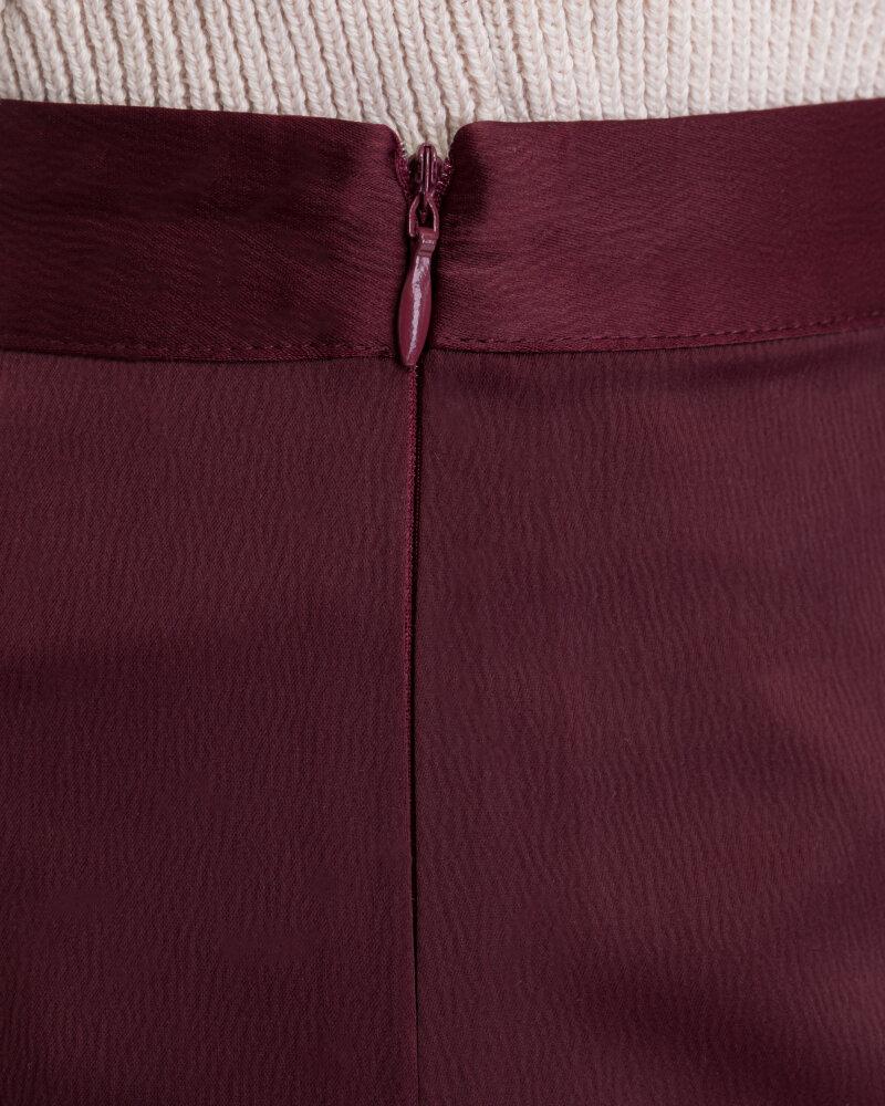 Spódnica Na-Kd 1018-003224_BURGUNDY bordowy - fot:5