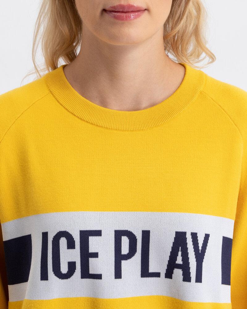 Sweter Ice Play U2MA015_9011_3182 żółty - fot:2