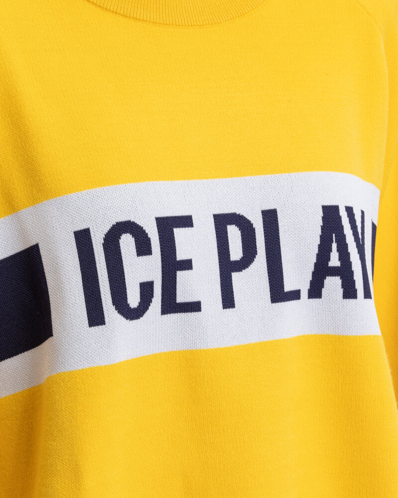 Sweter Ice Play U2MA015_9011_3182 żółty - fot:3