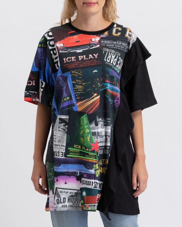 T-Shirt Ice Play U2MF062_P430_9000 czarny