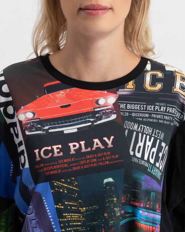 T-Shirt Ice Play U2MF062_P430_9000 czarny