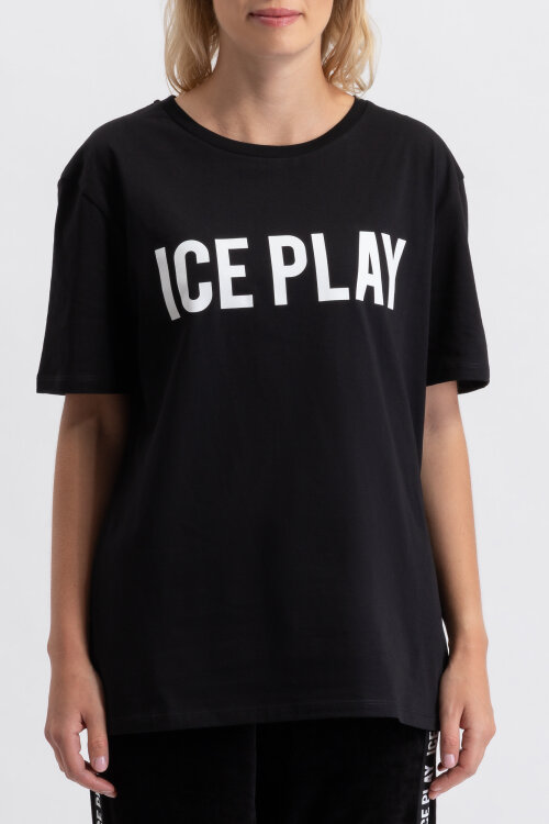 T-Shirt Ice Play U2MF086_P430_9000 czarny