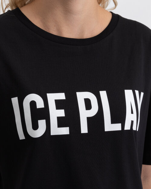 T-Shirt Ice Play U2MF086_P430_9000 czarny