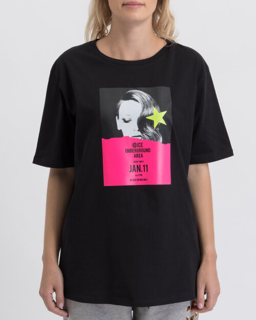 T-Shirt Ice Play U2MF082_P430_9000 czarny