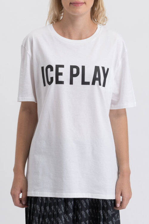 T-Shirt Ice Play U2MF086_P430_1101 biały