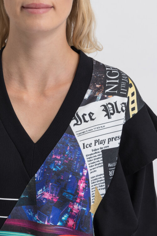 Sukienka Ice Play U2MH121_P451_9000 czarny