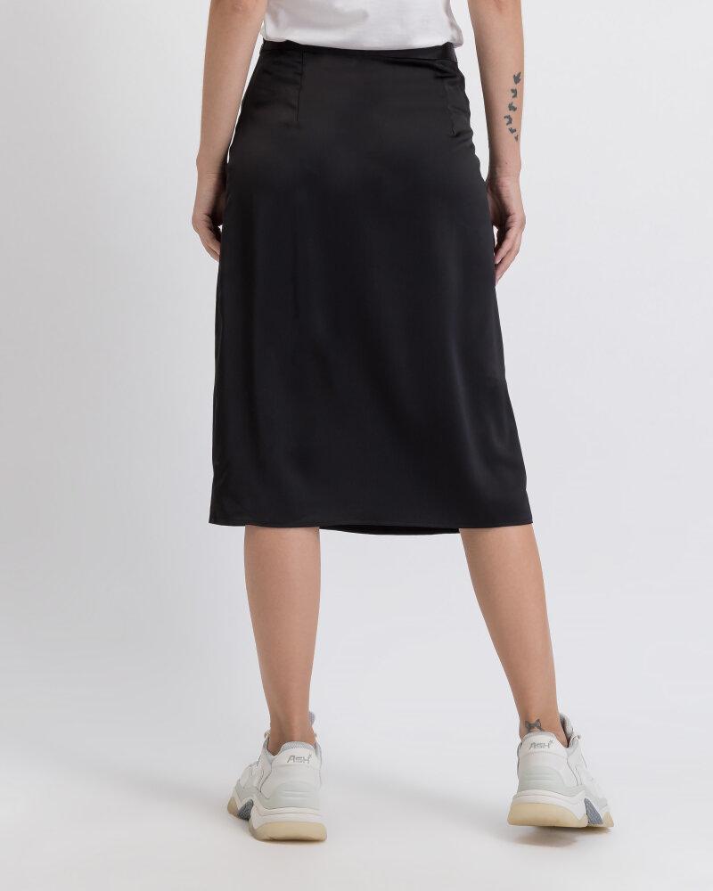 Spódnica Na-Kd 1018-003224_BLACK czarny - fot:3