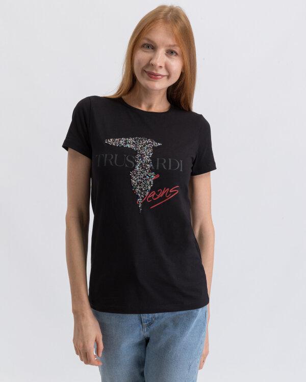T-Shirt Trussardi Jeans 56T00211_1T003077_K299 czarny