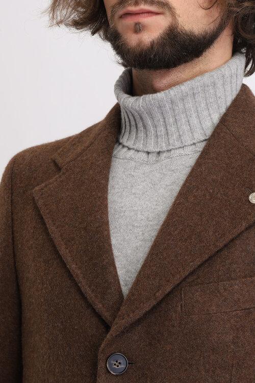 Płaszcz Cavaliere 75AW19222_Jefferey Coat_50 brązowy