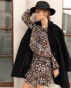 Sukienka Fraternity JZ19_W-DRE-0439_OCELOT brązowy