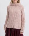 Sweter Fraternity JZ19_1031_GRIGIO ROSA czerwony