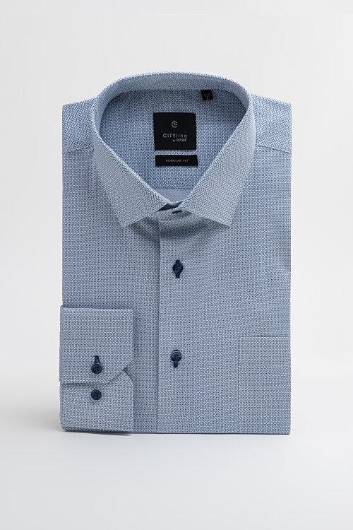 Koszula Reyjay KOCLHU_319107 RG_ niebieski