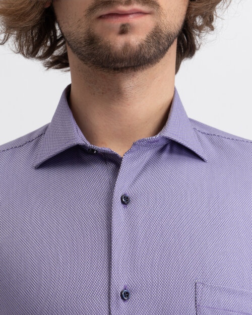 Koszula Seven Seas LIAM_630 fioletowy