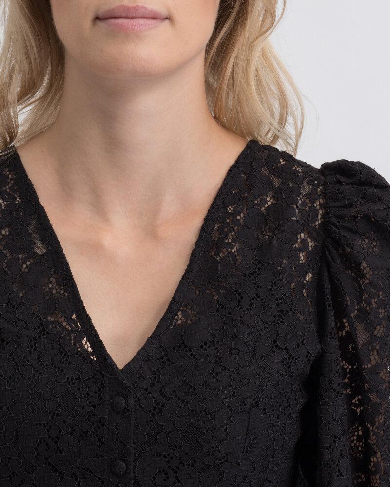 Bluzka Na-Kd 1018-003221_BLACK czarny - fot:2