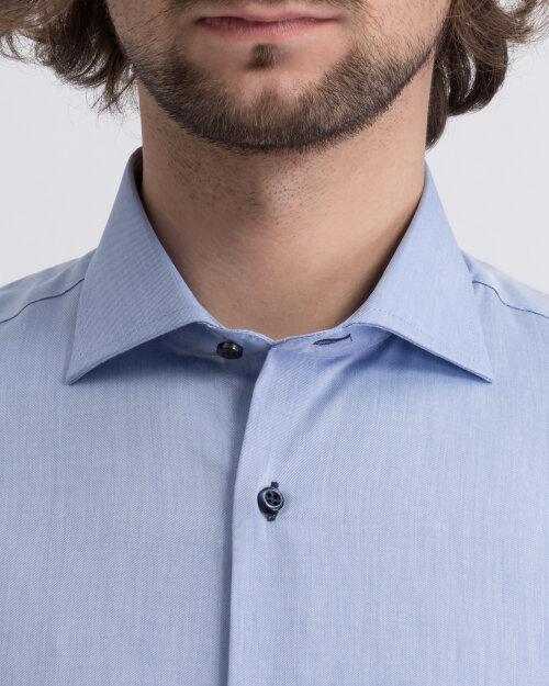 Koszula Seven Seas FINE TWILL W/WHEELS_700 niebieski