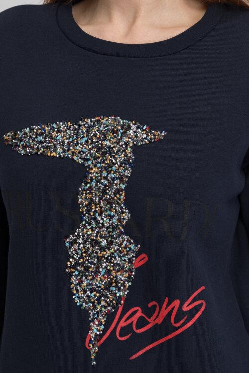 Bluza Trussardi Jeans 56F00073_1T003041_E155 granatowy