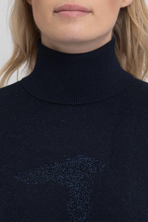 Sweter Trussardi Jeans 56M00217_0F000403_U290 granatowy