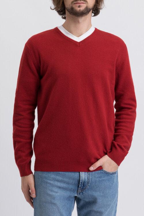 Sweter Oscar Jacobson HILBERT 6912_4954_613 czerwony