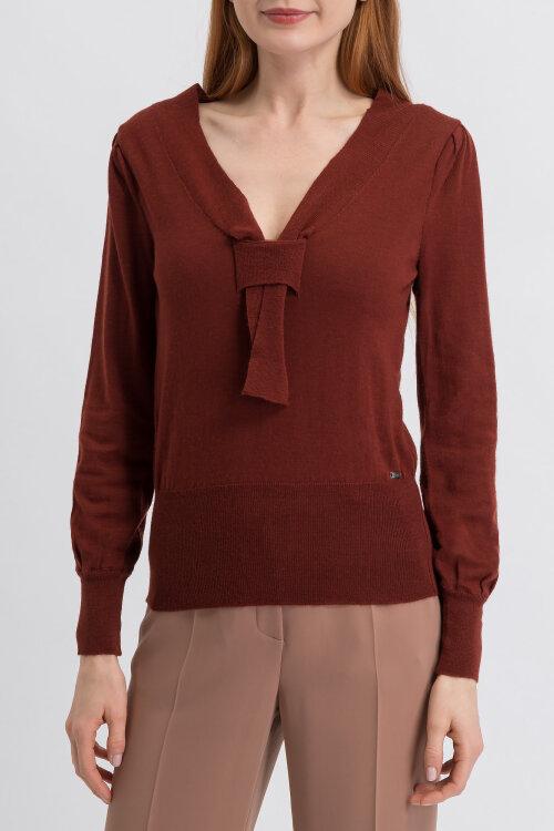 Sweter Mexx 74245_191337 bordowy